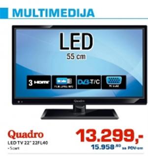 "LED TV 22"" 22FL40"