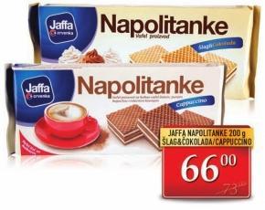 Napolitanke cappucino i šlag