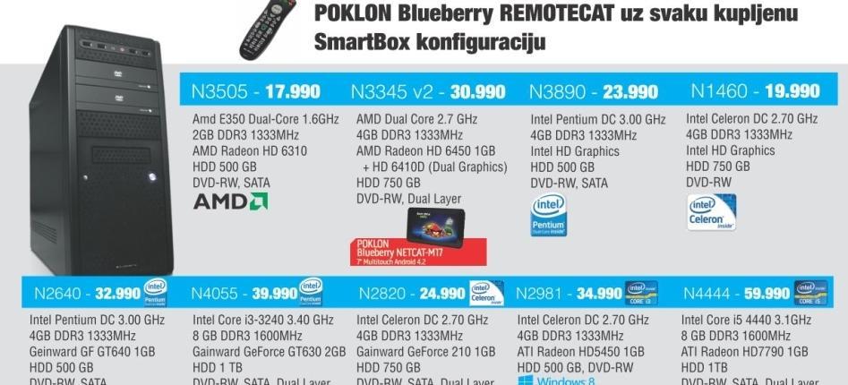 Desktop računar N4055