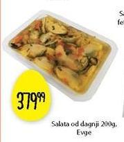 Salata dagnje