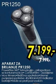 Aparat za brijanje PR1250
