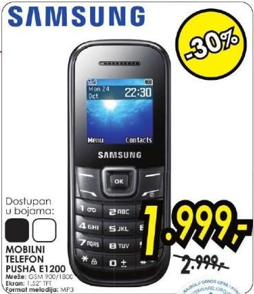 Mobilni telefon Pusha E1200
