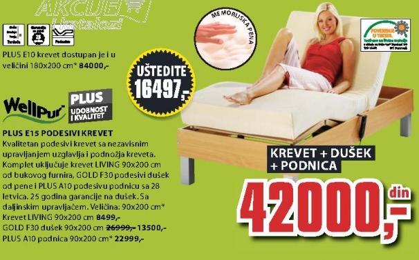 Krevet Living 90x200cm