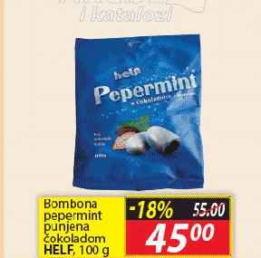 Bombone pepermint i čokolada