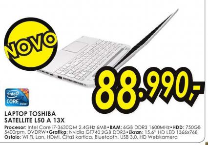 Laptop Satellite L50-A-13X
