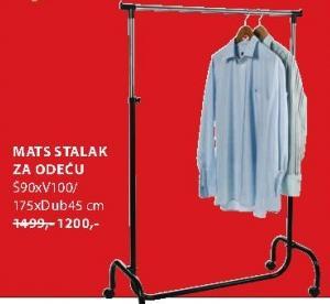 Stalak za odeću Mats