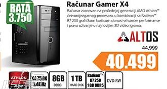 Desktop računar Altos Gamer X4