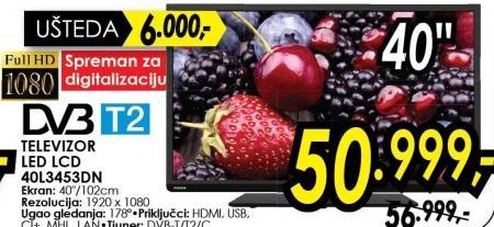"""Televizor LED 40"""" 40l3453dn"""