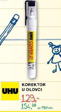 Korektor u olovci