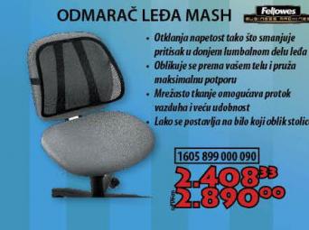 ODMARAČ LEĐA OFFICE MASH