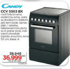 Šporet CCV 5503 BX