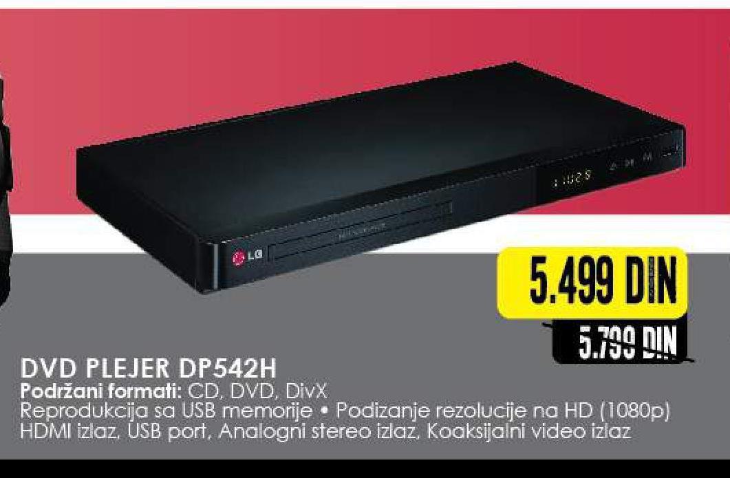 DVD Player DP542H