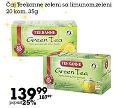 Čaj zeleni sa limunom