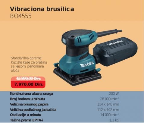 Vibraciona brusilica BO4555