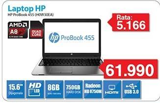 Laptop ProBook 455 H0W30EA