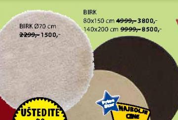 Tepih Birk 80x150 cm