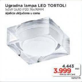 Ugradna lampa Tortoli