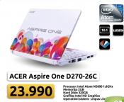 Laptop Aspire One D270-26c