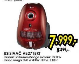 Usisivač Vb2718rt