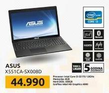 Laptop X551CA-SX008D