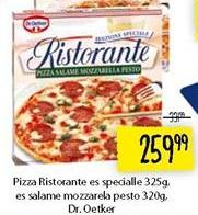 Smrznuta pizza es salame mozzarella