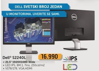 """Monitor LED 21,5"""" S2240l"""