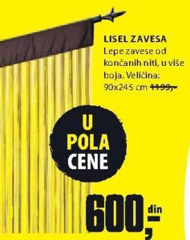 Zavesa Lisel
