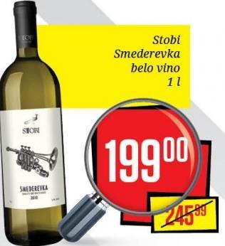 Belo vino Smederevka