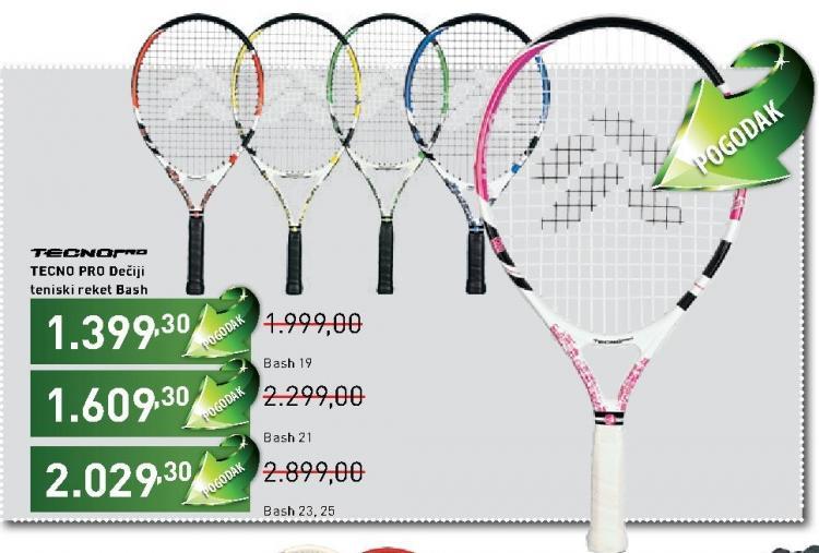 Dečiji teniski reket TECNO PRO