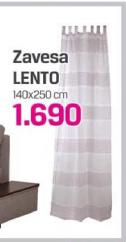 Zavesa Lento