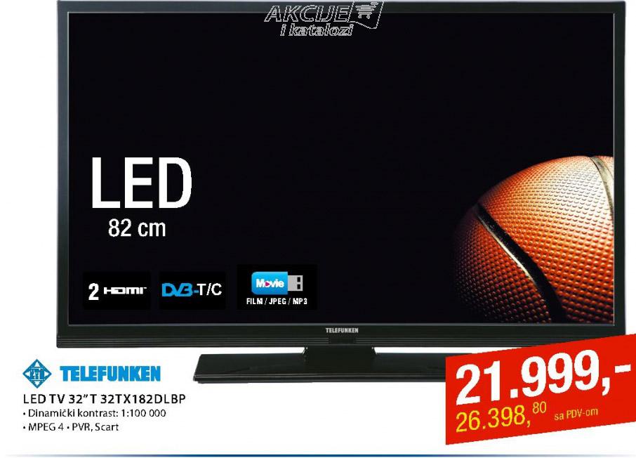 "LED Tv 32"" 32TX182DLBP"