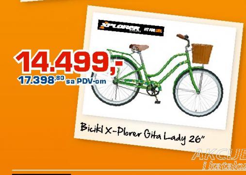 Bicikl X-plorer Gita Lady 26''