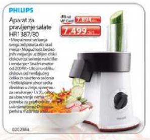 Aparat za pravljenje salate HR1387/80
