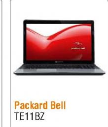 Laptop Packard bell EasyNote TE11BZ