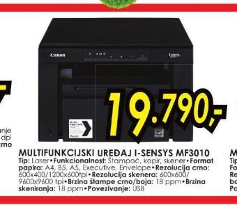 Multifunkcijski Uređaj I-Sensys Mf3010