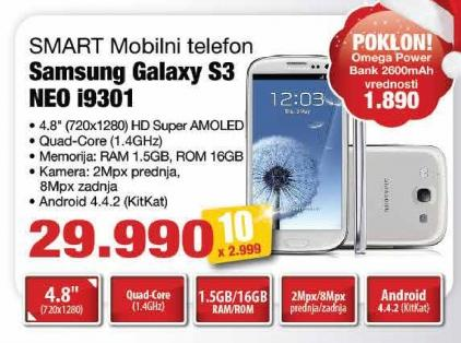 Mobilni telefon Galaxy S3 Neo i9301