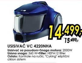 Usisivač Vc 4220nha