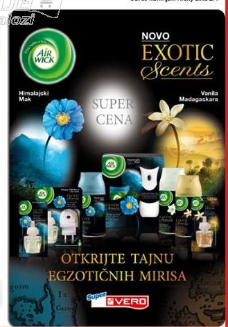Air Wick novi egzotični mirisi
