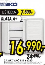 Ugradni zamrzivač FS1 66020