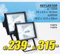Reflektor 150w