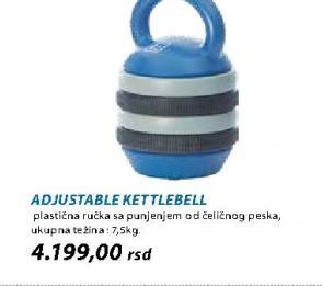Teg Adjustable Kettlebell
