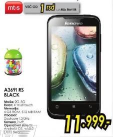 Mobilni telefon A369i Rs Black