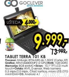 Tablet Terra 101 KB