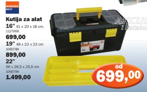 "Kutija za alat 19"""