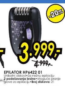 Epilator Hp 6422 01