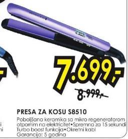 PRESA ZA KOSU S8510