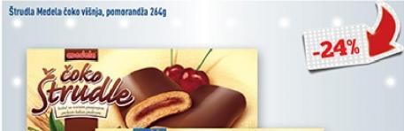 Štrudla čokolada i višnja