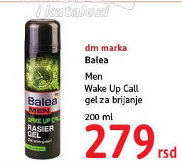 Gel za brijanje Wake Up Call