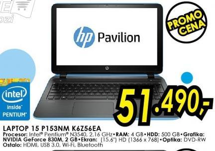 Laptop Pavilion 15 P153nm K6z56ea