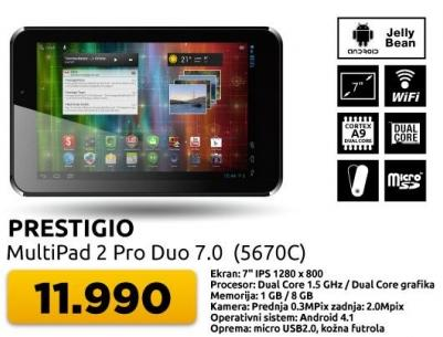 Tablet MultiPad 2 Pro Duo 7.0 5670C